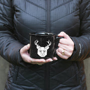 BEER Bear with Antlers Camp Mug by Bread and Badger
