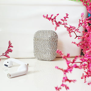 Crystal White AirPods Case