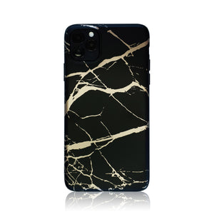 Black and Gold Silicon iPhone Case