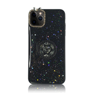 Black Starry Sky Silicon Case
