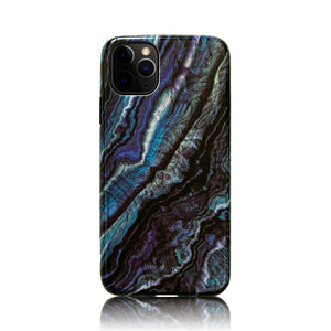 Blue and Black 3D Hybrid iPhone Case