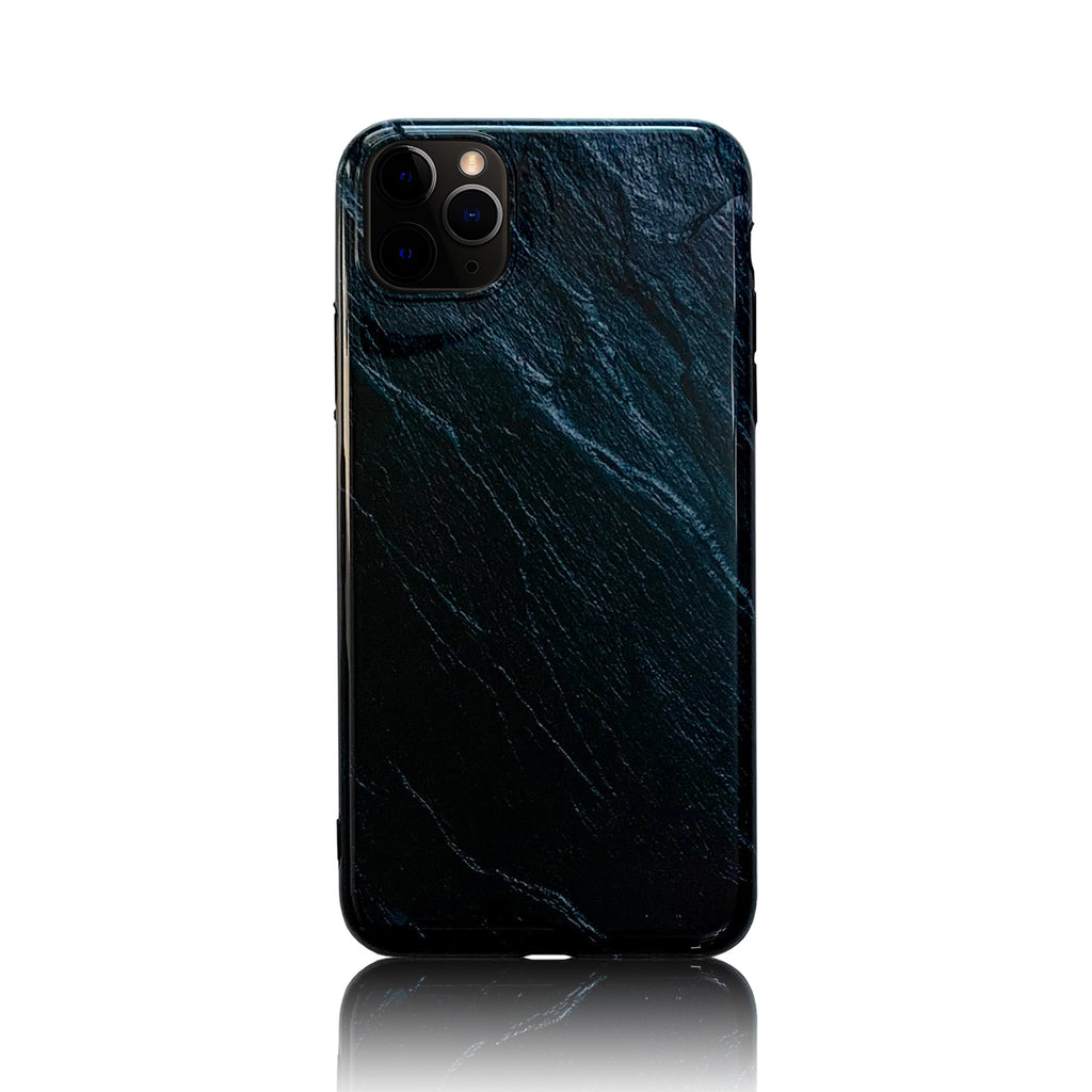 Blue and Black Silicon Case