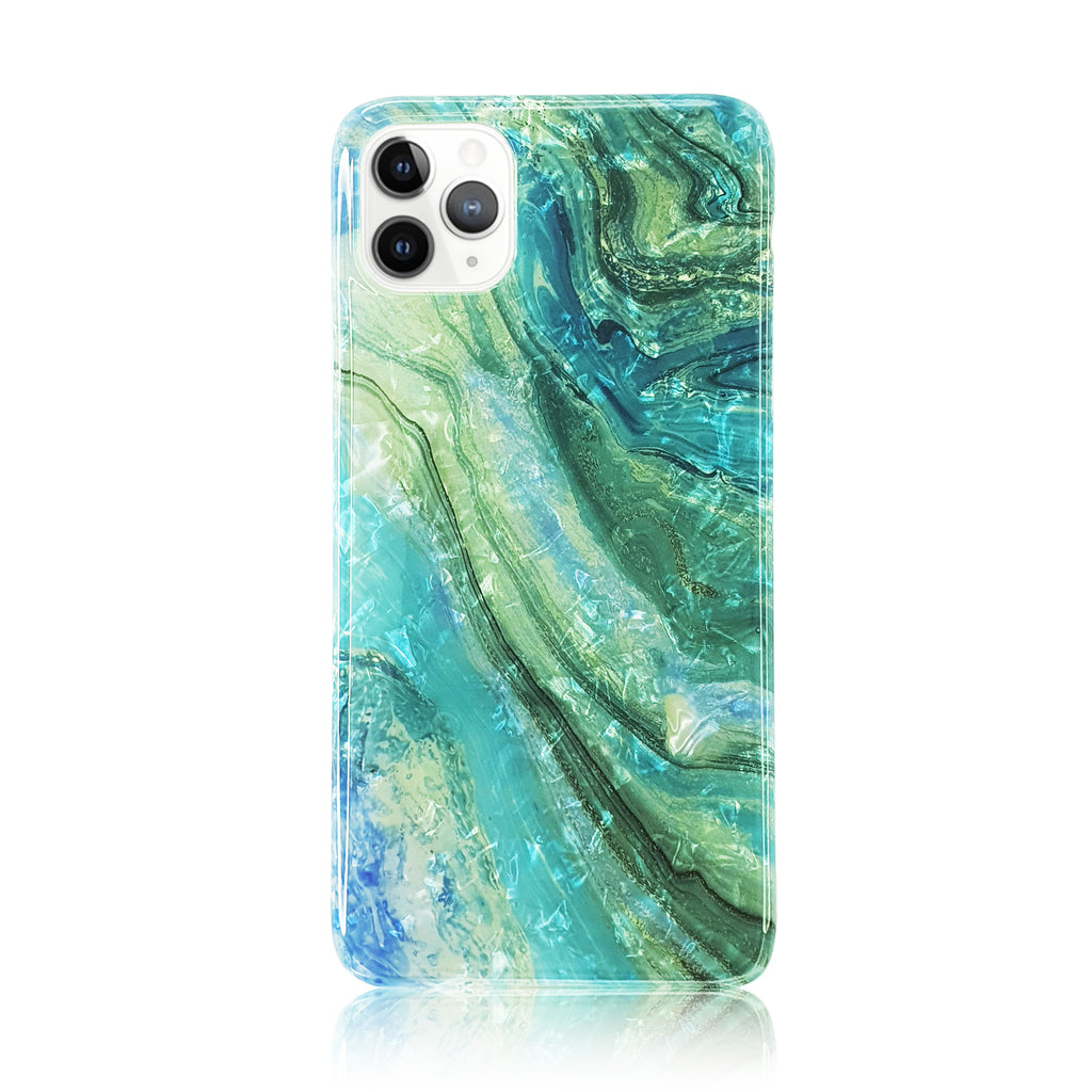 Holographic Sea Silicon Case