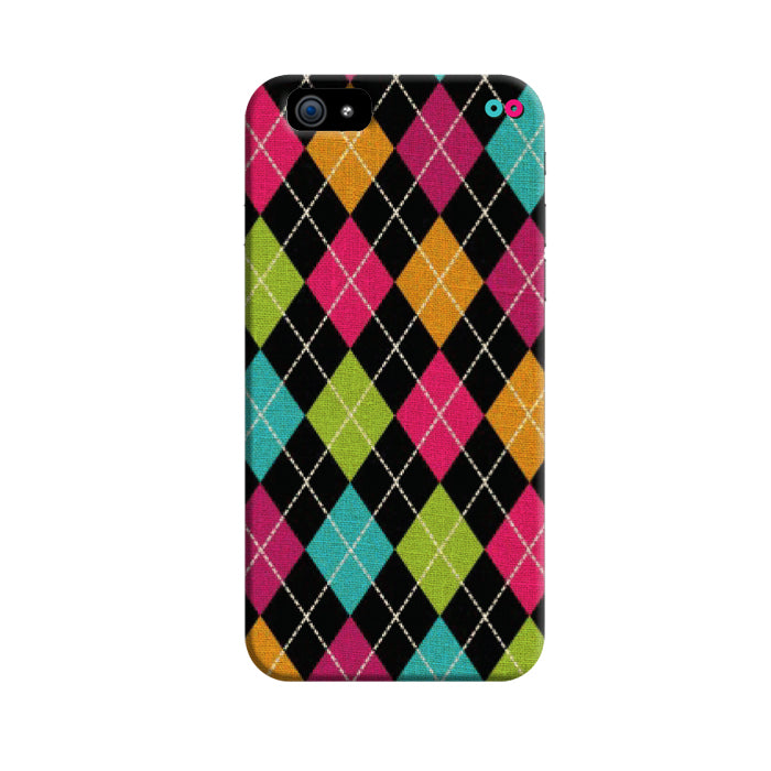 Colourful Argyle 3D Case