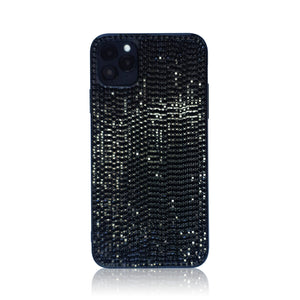Crystal Black Silicon iPhone Case