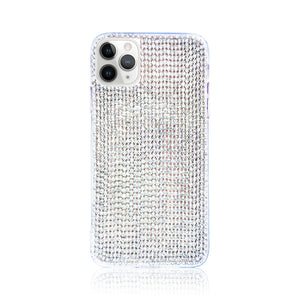 Crystal White Silicon iPhone Case
