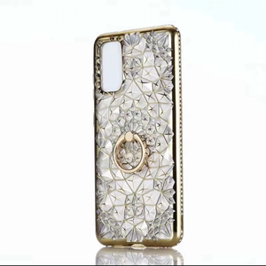Bejeweled Gold Silicon Case