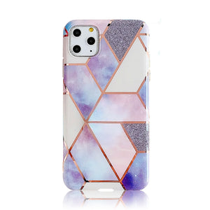 Lavender Rose Gold Plated Silicon Case