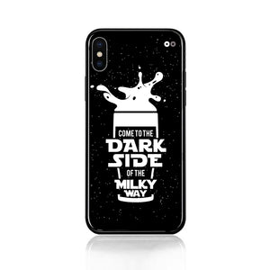 Dark Side of the Milky Way Tempered Glass Case