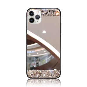 Jeweled Mirror Silicon Case