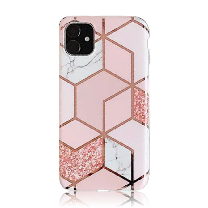 Pink Rose Gold Plated Silicon Case