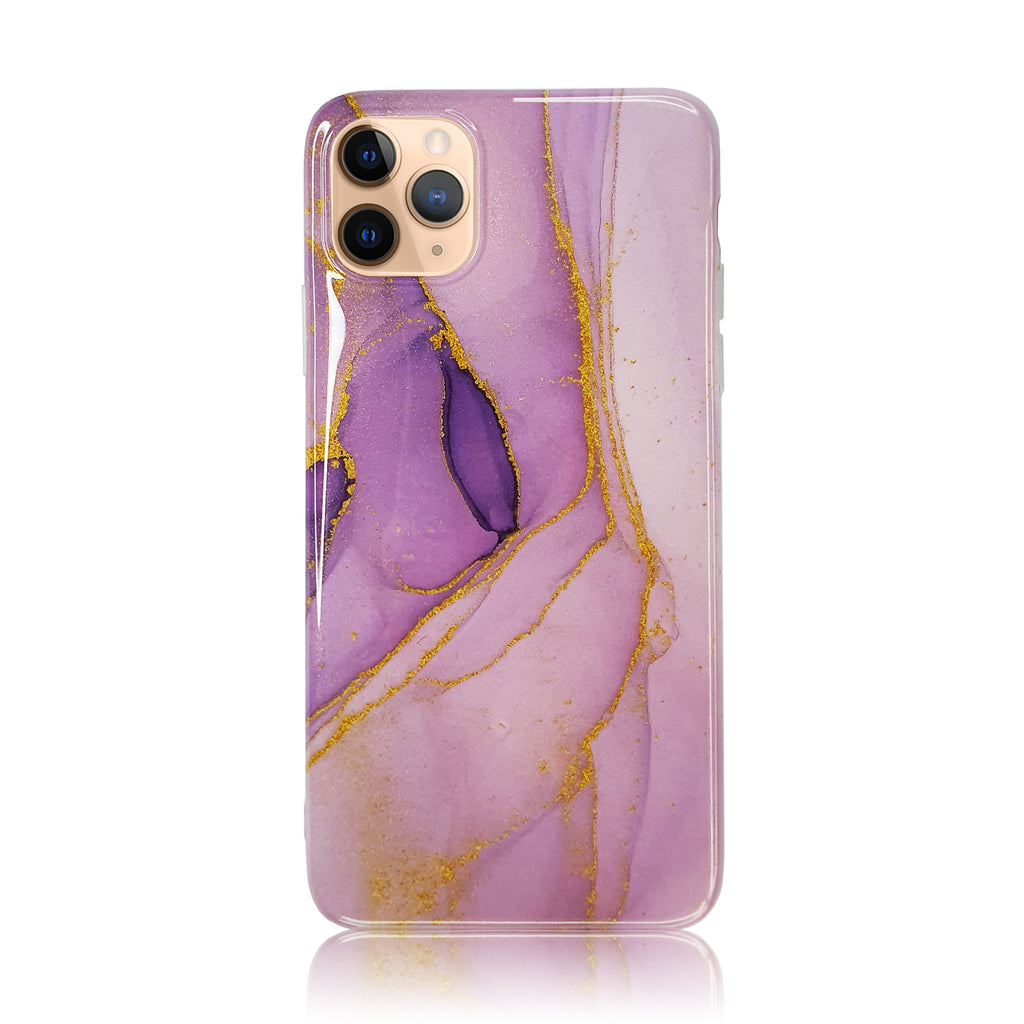Purple Sand Silicon Case