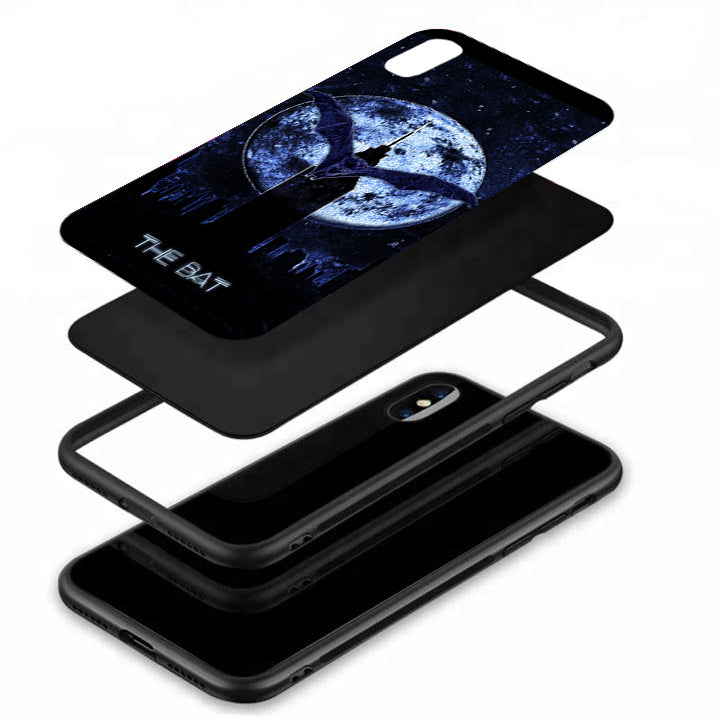 The Bat Tempered Glass Case