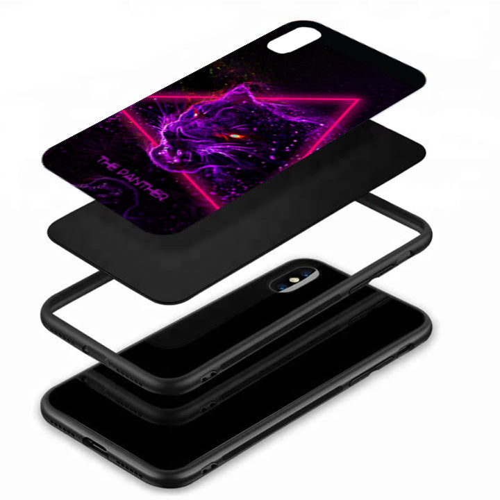 The Panther Tempered Glass Case