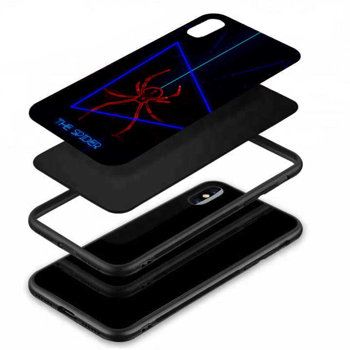 The Spider Tempered Glass Case