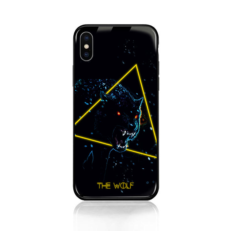 The Wolf Tempered Glass Case