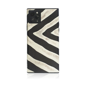 Zebra Stripes Pattern 3D 2in1 Case