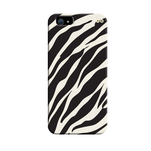 Zebra Stripes Pattern 3D Case