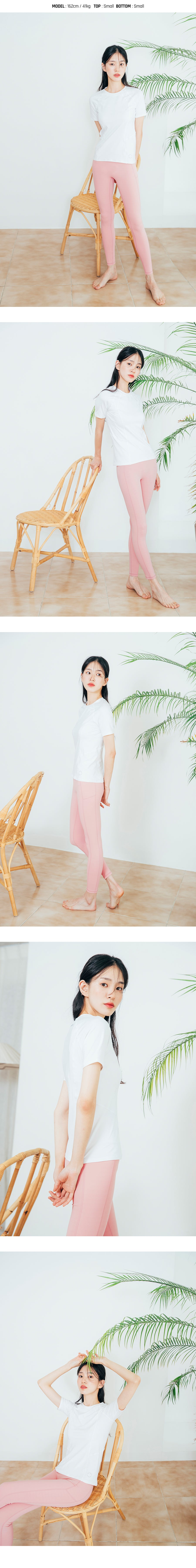Barrel Fit Womens Slim S/S Tee-IVORY_image