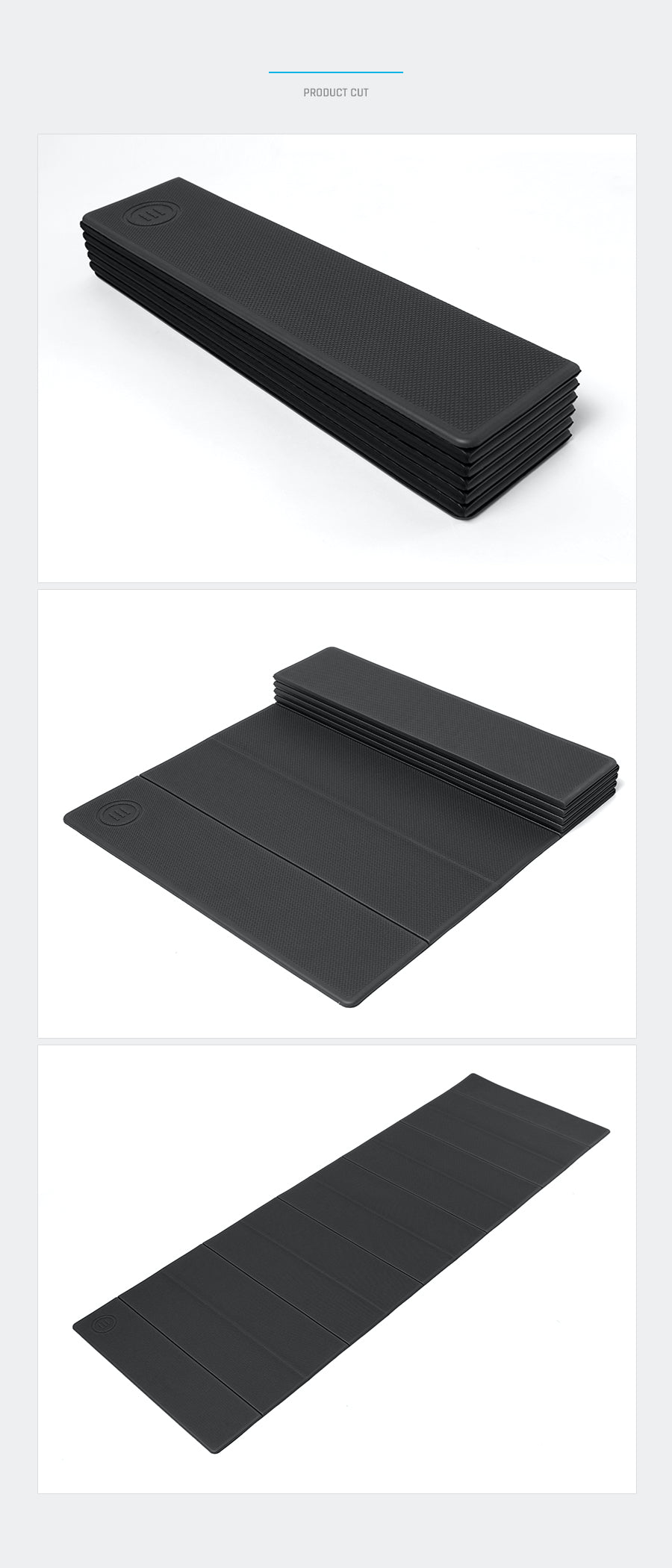 Barrel Fit Foldable 6mm Recovery Mat-BLACK_image