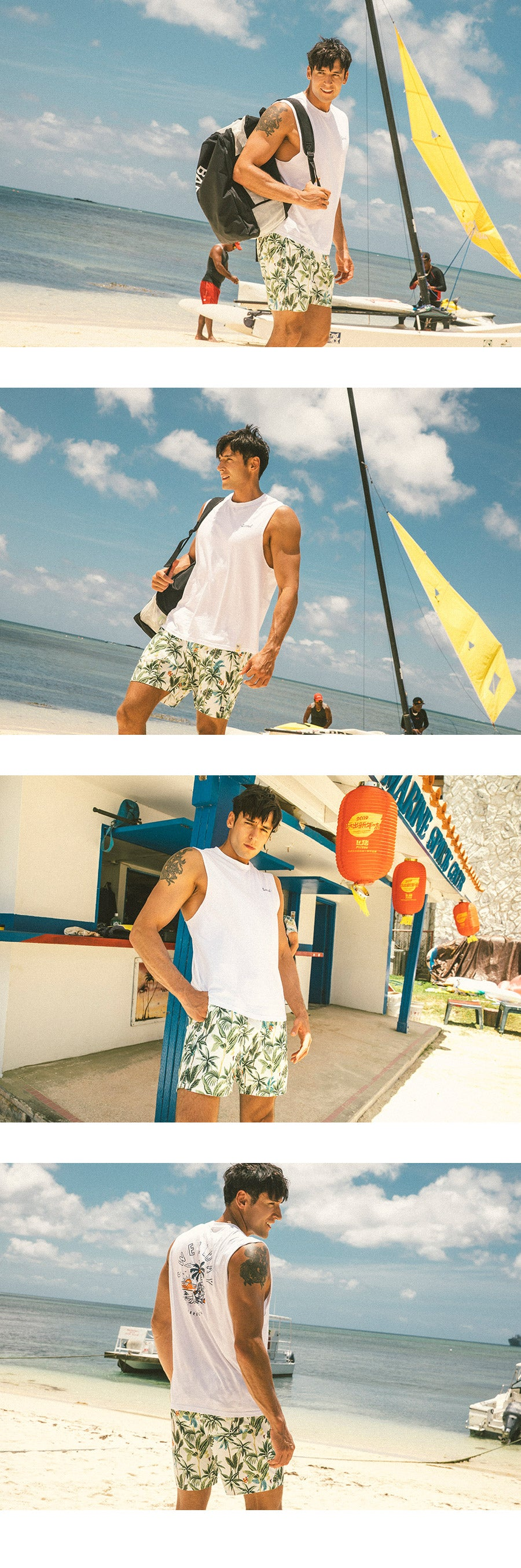 Barrel Mens Holiday Boardshorts-BOTANIK_image