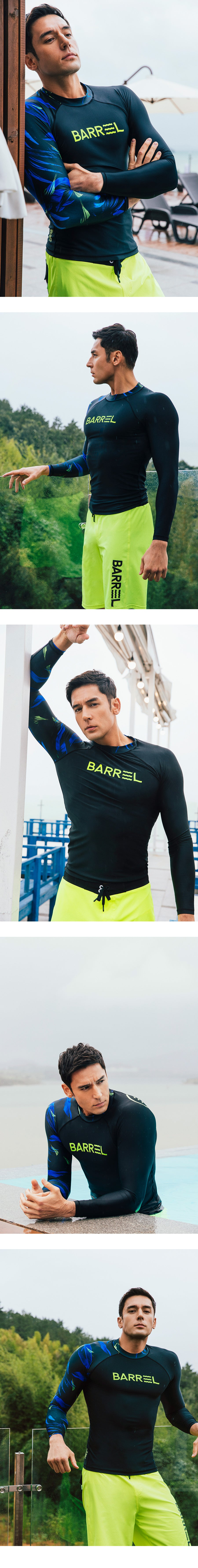 Barrel Mens Odd Rashguard-BLACK_JulienKang