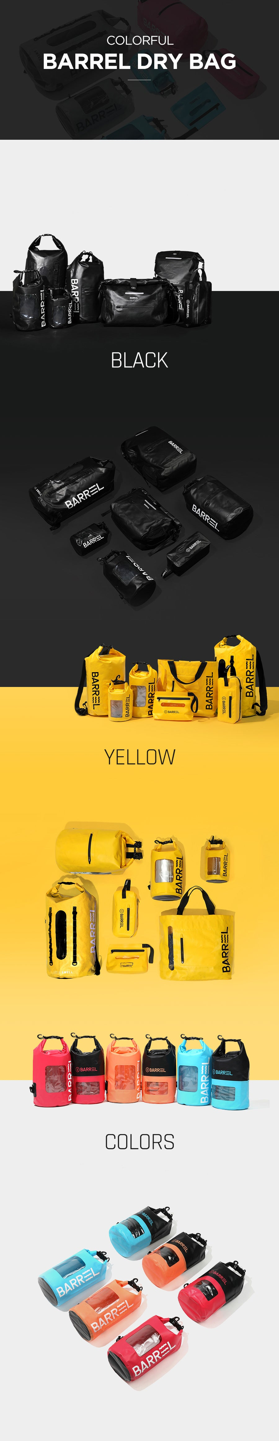 Barrel Dry Hand Pouch-YELLOW_image2