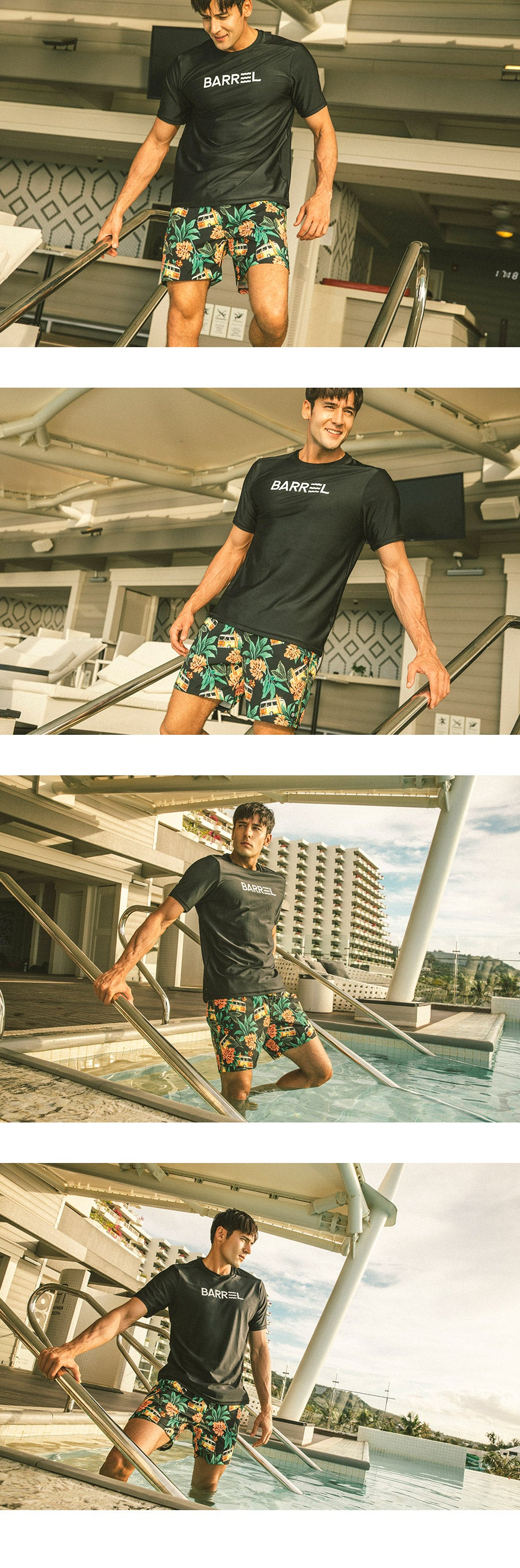 Barrel Mens Holiday Boardshorts-HAWAII BEN_image