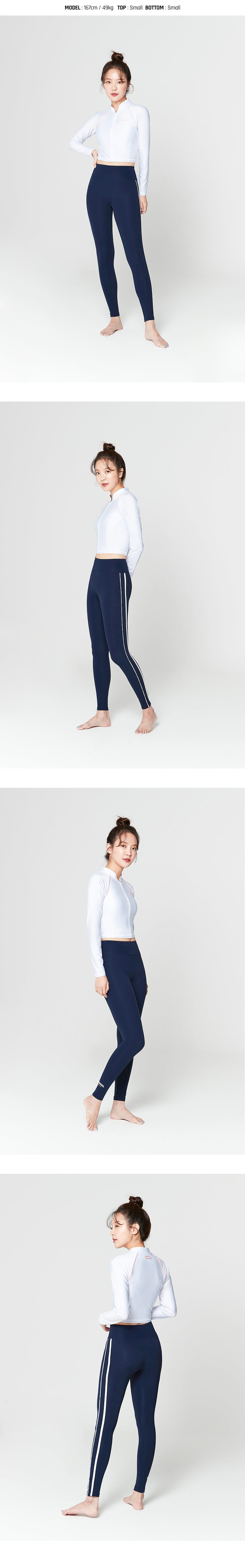 Barrel Womens Joy Water Leggings-DEEP NAVY_image1