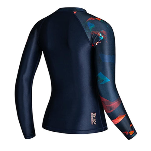 Barrel Womens Odd Rashguard-DEEP NAVY - Rashguards | BARREL HK