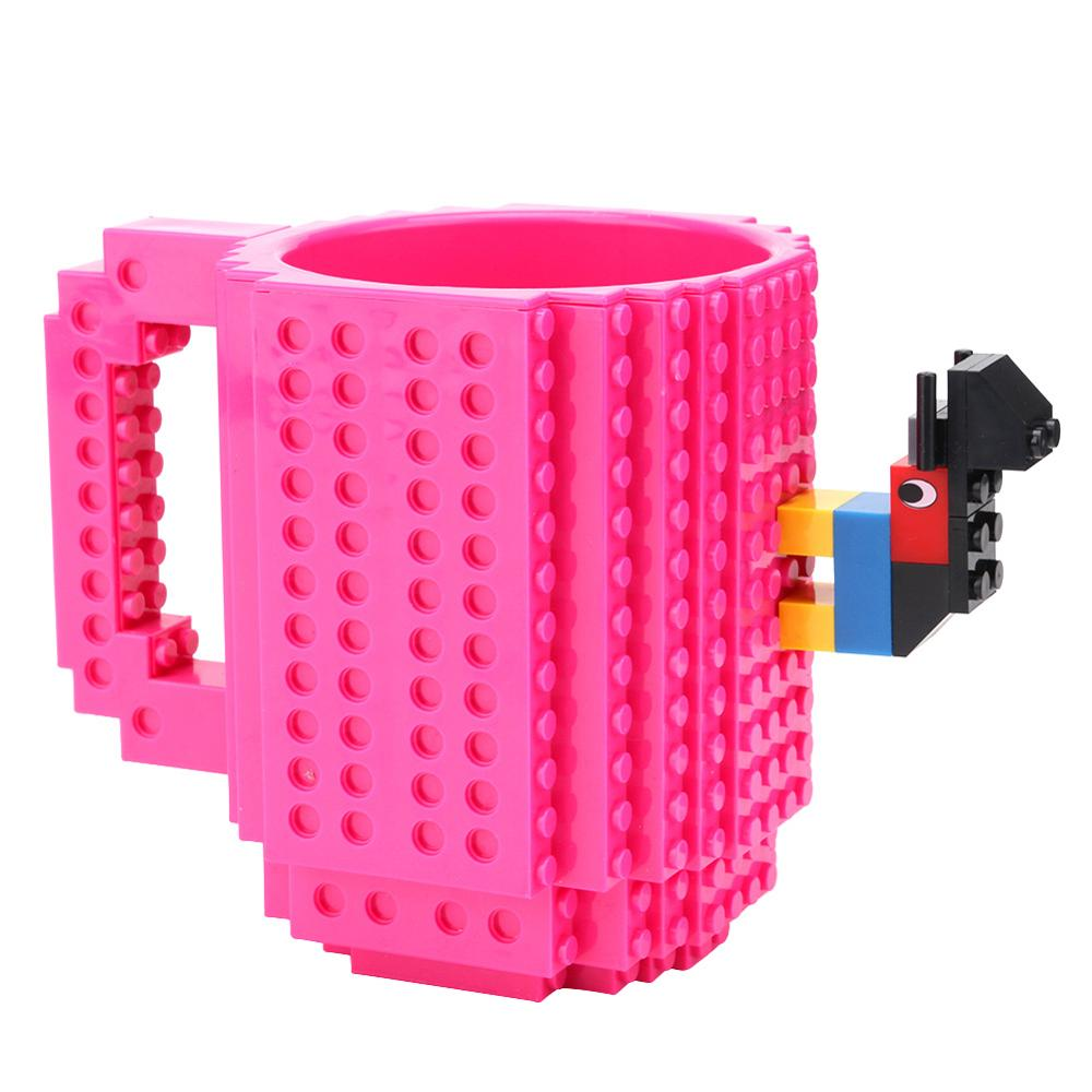 Details about  /New BUILD-ON Brick Mug Coffee Cup 12oz BLACK Great Gift BPA Free