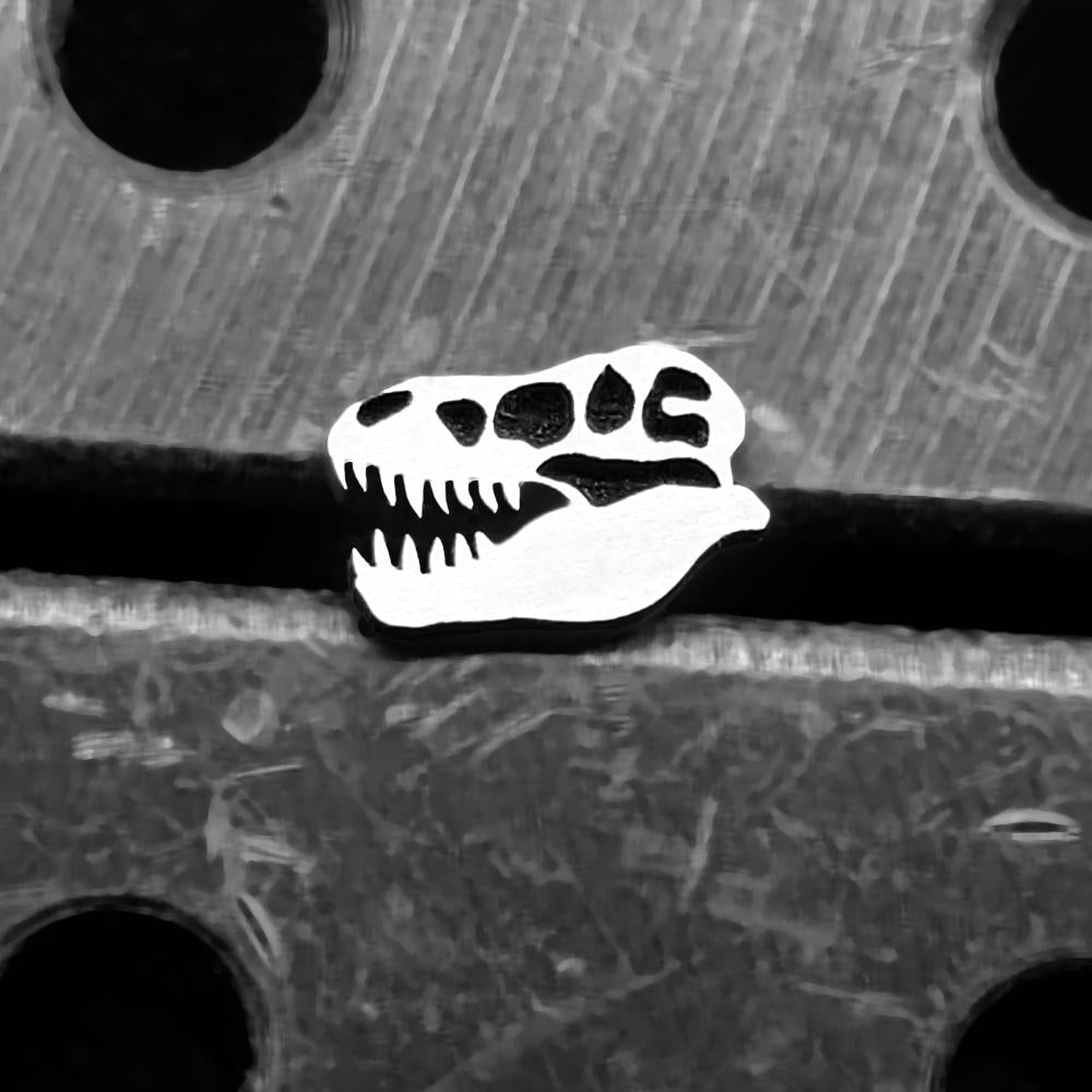 T-Rex Skull Internally Threaded Cartilage Earring