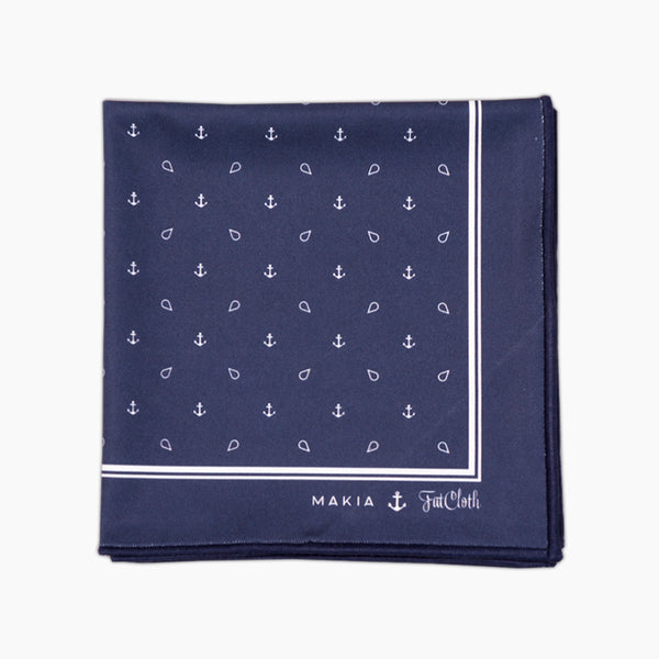 Makia Anchor <br> Pocket Square
