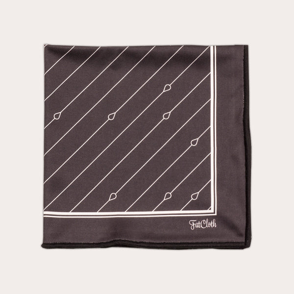 Bernie Grey <br> Pocket Square