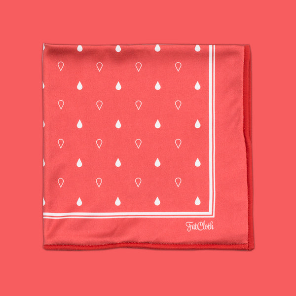 Earl Red <br> Pocket Square