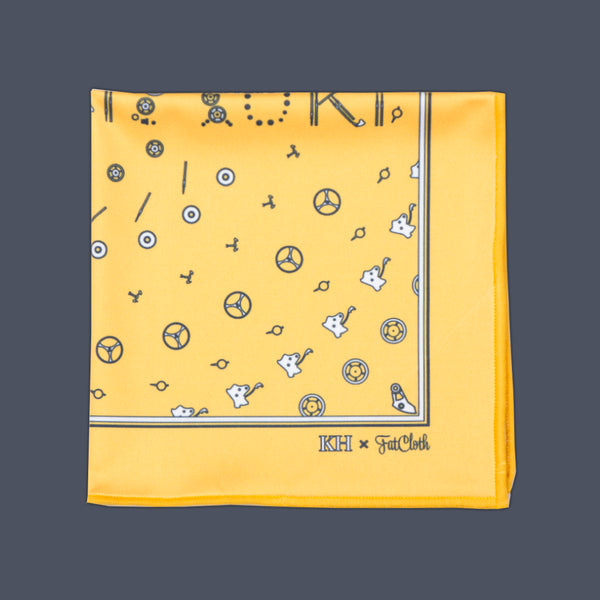 22821 Yellow <br> Pocket Square