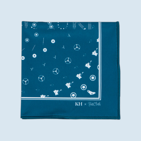 22821 Indigo <br> Pocket Square