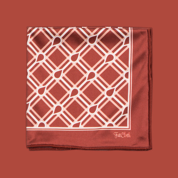 Marcus Maroon <br> Pocket Square