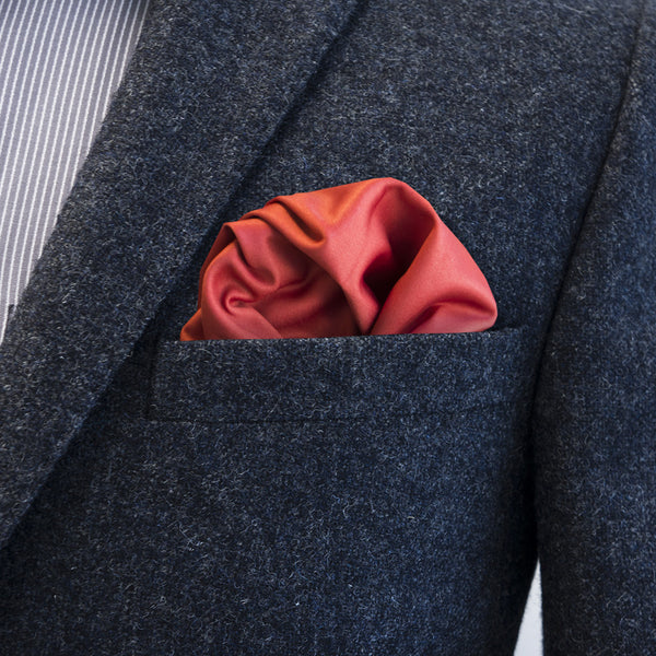 8eebcaf9fddc0 Salvatore Red Pocket Square | FatCloth - It's more than a pocket square.