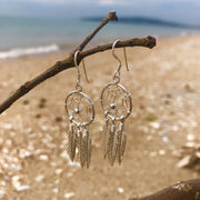 Dreamcatcher earrings - mycrystalcrushMyCrystalCrush