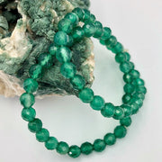 Beaded Bracelet - Green Quartz - mycrystalcrushmycrystalcrush