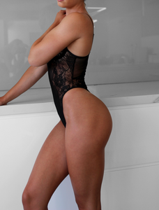 JASMINE BODYSUIT - BLACK
