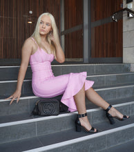 Load image into Gallery viewer, PRETTY IN PINK BANDAGE DRESS