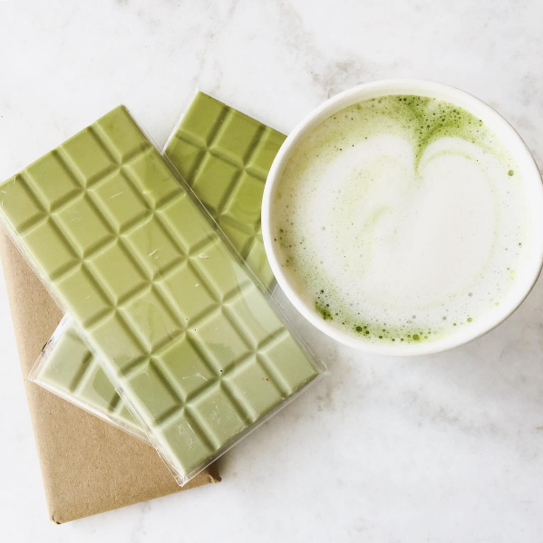 Matcha Lattes in Room 2046 Toronto