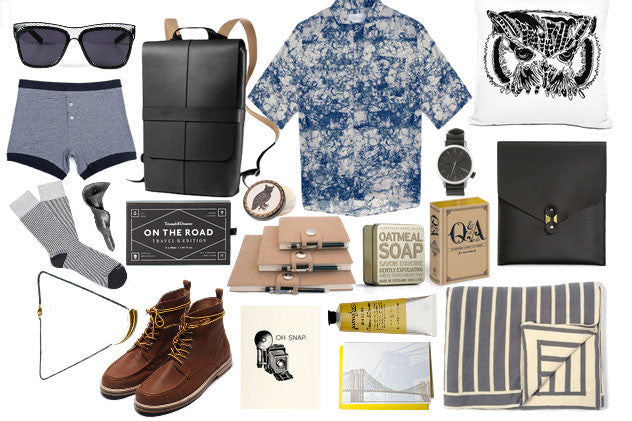 Away We Go: Travel Essentials for the Nomadic Gent