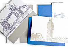Albertine Press London Sketch Letterpress Notecards | Room 2046 Toronto Canada