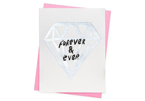 Ashkahn Forever & Ever Diamond Valentine Card | Room 2046 Toronto Canada