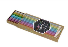 Bright Ideas: 10 Metallic Colored Pencils available from Room 2046 shop studio Toronto Canada