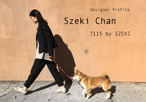 Designer Profile: Szeki Chan of 7115 by SZEKI | Room Service in Room 2046 Toronto Canada