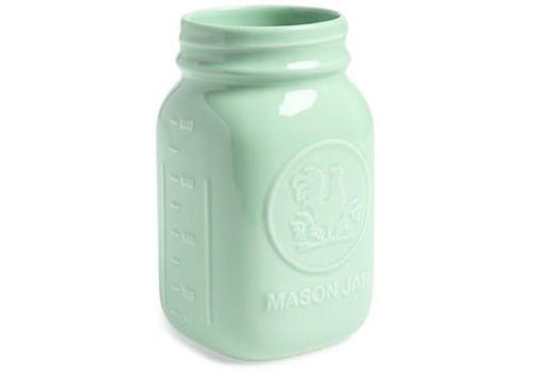 Fishs Eddy Quart Size Mason Jar - Mint available from Room 2046 cafe shop studio Toronto Canada
